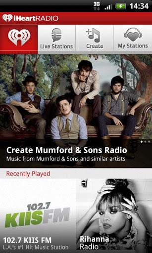 iheartradio-android-uygulama